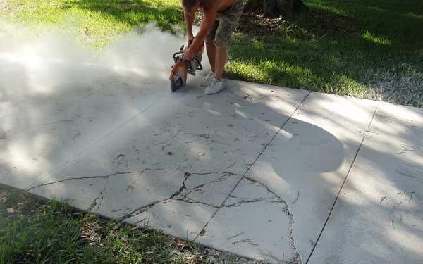 driveway repair at home